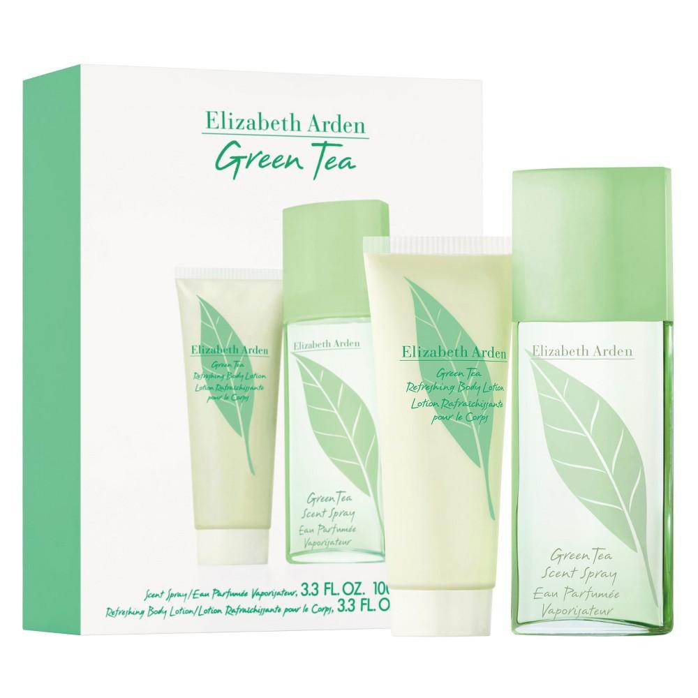 Elizabeth Arden Green Tea, parfémovaná voda 100ml + tělové mléko 100ml, Dárková sada