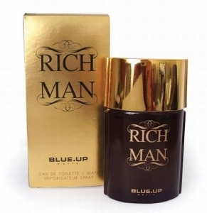 Blue Up Paris Rich Man (Alternatíva parfému Paco Rabanne 1 Million), 100ml, Toaletní voda