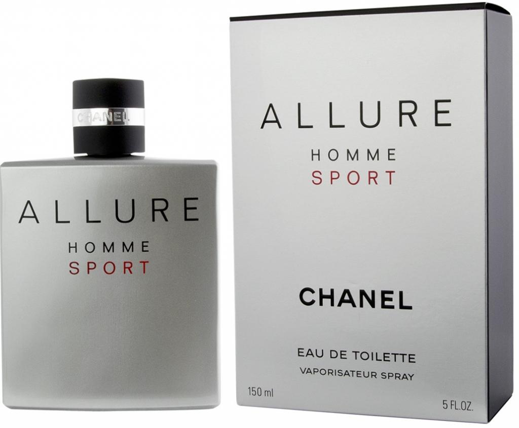 Chanel Allure Homme Sport, Toaletní voda, Pánska vôňa, 150ml