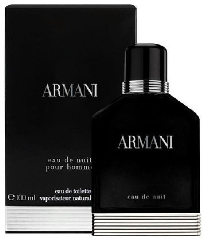 Giorgio Armani Eau De Nuit, Toaletní voda, 100ml, Pánska vôňa