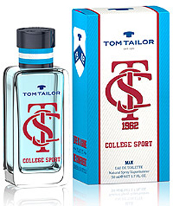 Tom Tailor College Sport Man, Toaletní voda, Pánska vôňa, 30ml