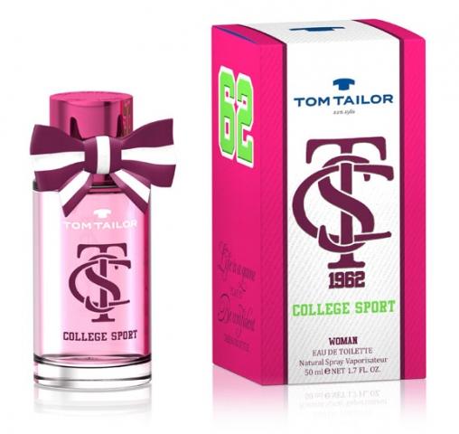 Tom Tailor College Sport Woman, Toaletní voda, Dámska vôňa, 30ml