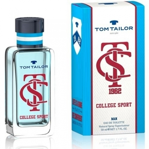 Tom Tailor College Sport Man, Toaletní voda, Pánska vôňa, 50ml