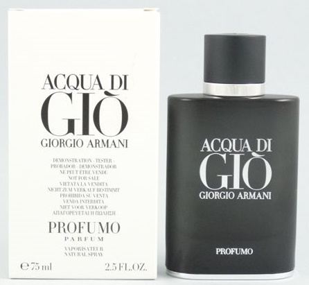 Giorgio Armani Acqua di Gio Profumo, Parfémovaná voda - Tester, Pánska vôňa, 75ml