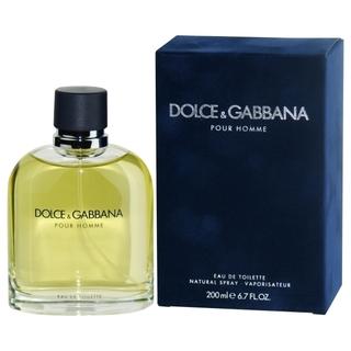 Dolce & Gabbana pour Homme, 200ml, Toaletní voda