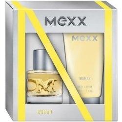 Mexx Mexx Woman, Dárková sada, Dámska vôňa, toaletní voda 20ml + sprchový gel 50ml