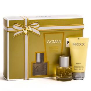 Mexx Mexx Woman, Dárková sada, toaletní voda 20ml + tělové mléko 50ml, Dámska vôňa