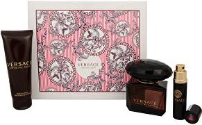 Versace Crystal Noir, Dárková sada, toaletní voda 90ml + tělové mléko 100ml + toaletní voda 10ml , Dámska vôňa