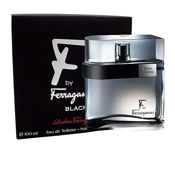 Salvatore Ferragamo F by Ferragamo pour Homme Black, 100ml, Toaletní voda