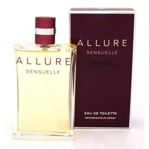 Chanel Allure Sensuelle, Toaletní voda, 100ml, Dámska vôňa