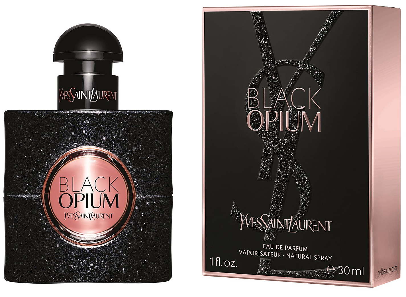 Yves Saint Laurent Opium Black, 30ml, Parfémovaná voda