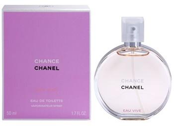 Chanel Chance Eau Vive, Toaletní voda, Dámska vôňa, 50ml