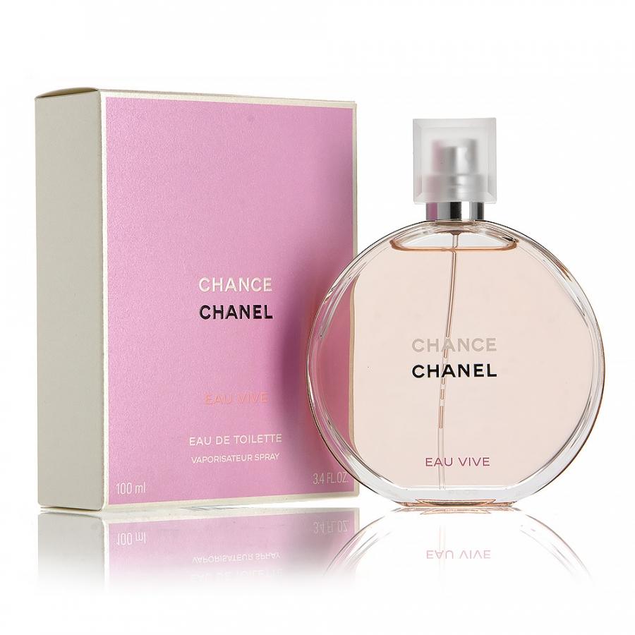 Chanel Chance Eau Vive, Toaletní voda, Dámska vôňa, 100ml