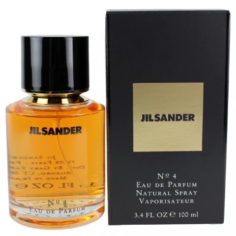Jil Sander No.4, 100ml, Parfémovaná voda
