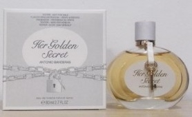 Antonio Banderas Her Golden Secret, 80ml, Toaletní voda - Tester