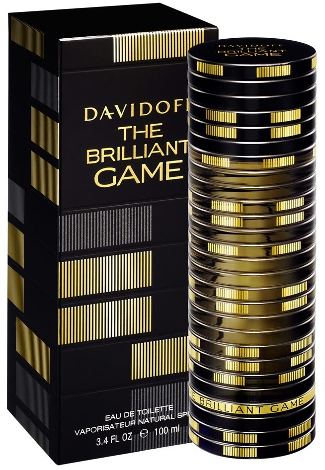 Davidoff The Brilliant Game, 100ml, Toaletní voda