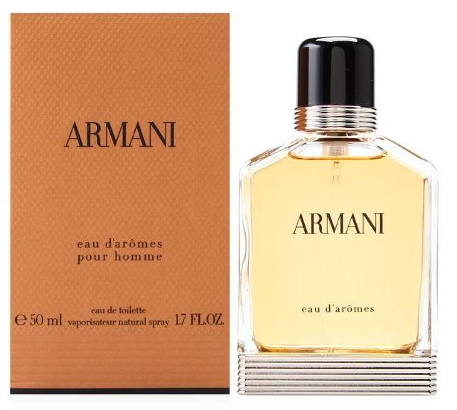 Giorgio Armani Eau d´Aromes, 50ml, Toaletní voda