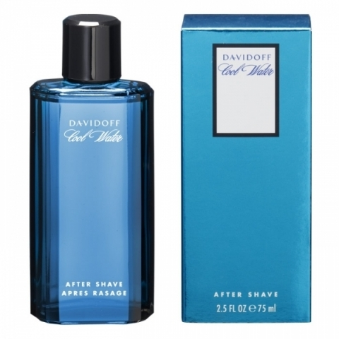 Davidoff Cool Water Man, 75ml, Voda po holení