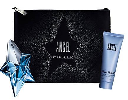 Thierry Mugler Angel, parfémovaná voda 25ml + tělové mléko 50ml + taška, Dárková sada