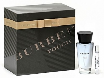 Burberry Touch for Men, toaletní voda 100ml + toaletní voda 7.5ml, Dárková sada