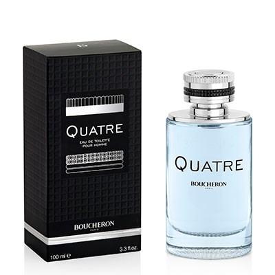 Boucheron Quatre Pour Homme, Toaletní voda, 100ml, Pánska vôňa