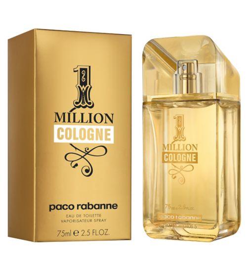 Paco Rabanne 1 Million Cologne, Toaletní voda, 75ml, Pánska vôňa