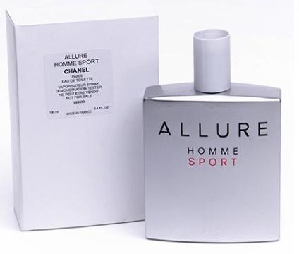 Chanel Allure Homme Sport, Toaletní voda - Tester, 100ml, Pánska vôňa