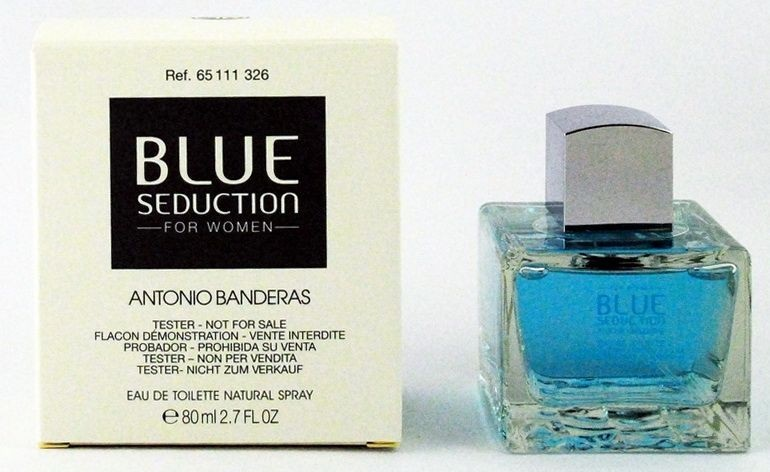 Antonio Banderas Blue Seduction for Woman, 80ml, Toaletní voda - Tester