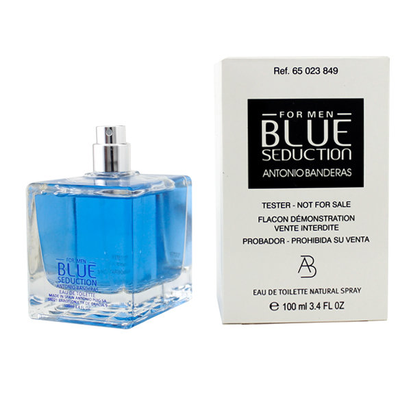 Antonio Banderas Blue Seduction for Man, 100ml, Toaletní voda - Tester