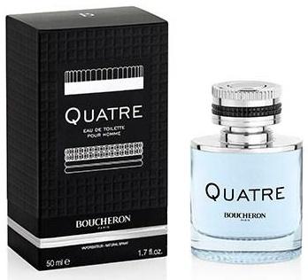 Boucheron Quatre Pour Homme, 50ml, Toaletní voda