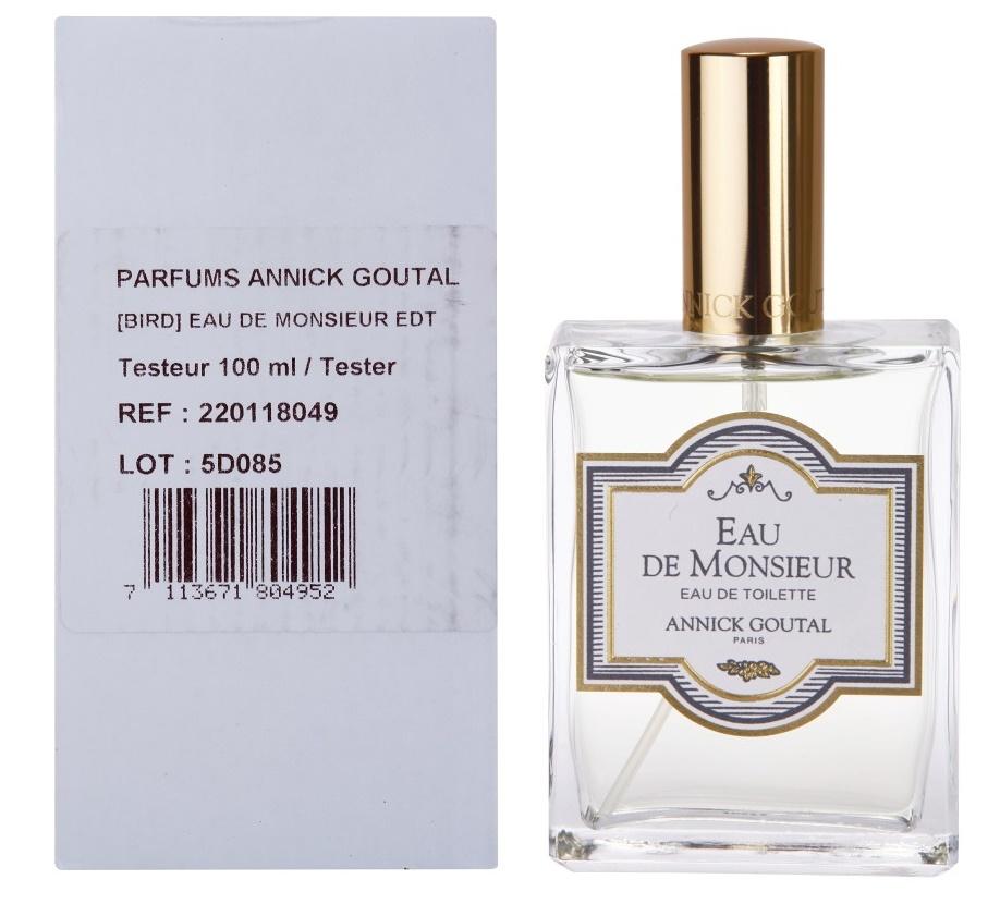 Annick Goutal Eau de Monsieur, Toaletní voda - Tester, Pánska vôňa, 100ml