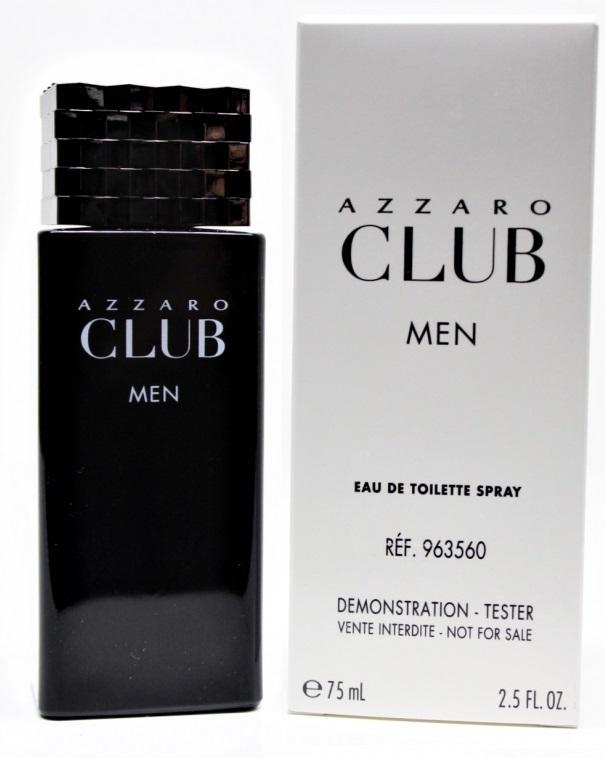 Azzaro Club for Men, 75ml, Toaletní voda - Tester