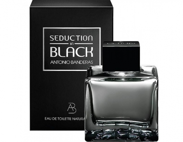 Antonio Banderas Seduction in Black, 100ml, Toaletní voda