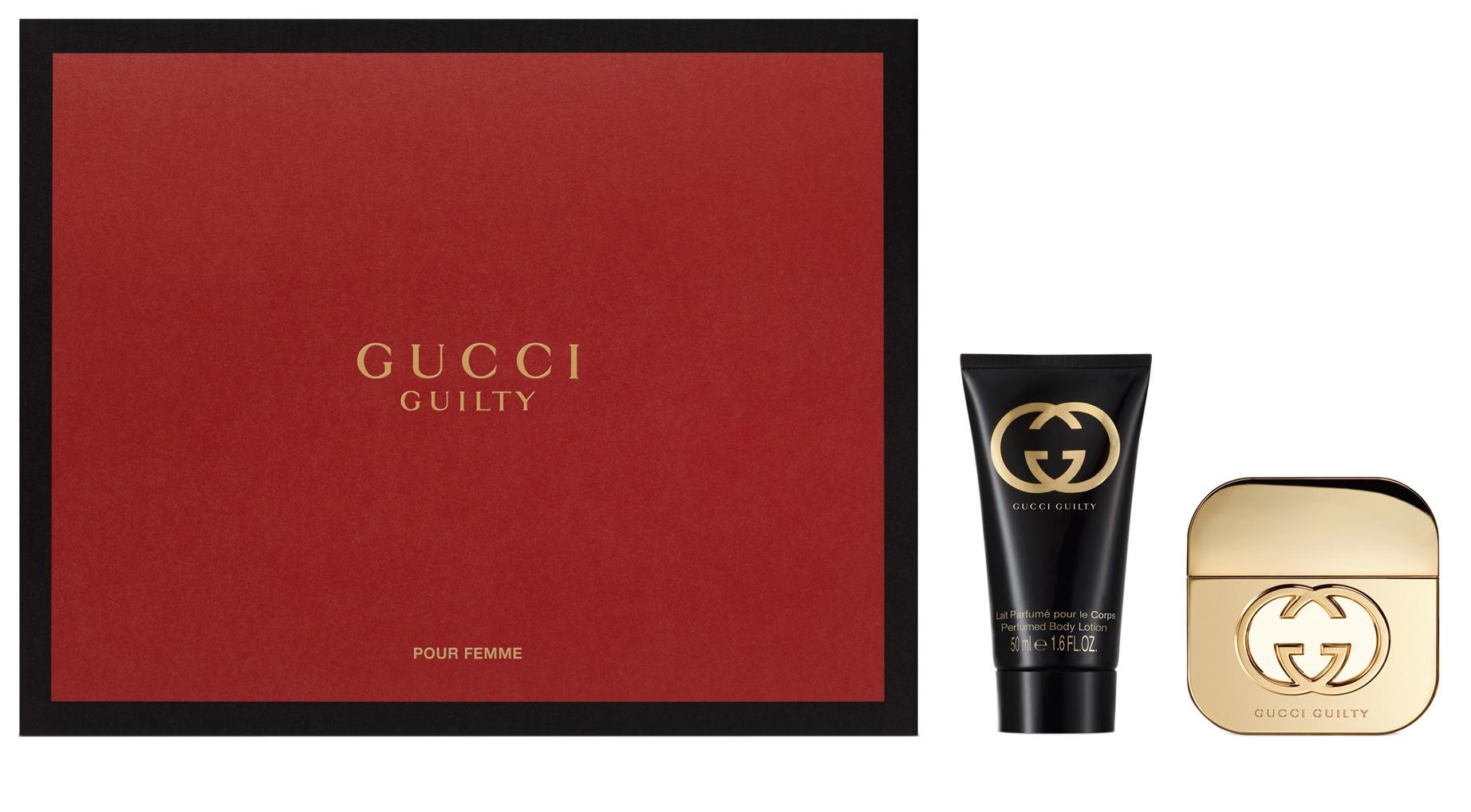 Gucci Guilty Woman, Dárková sada, toaletní voda 30ml + tělové mléko 50ml, Dámska vôňa