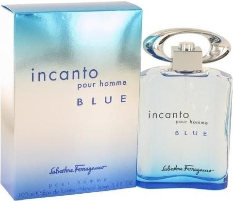 Salvatore Ferragamo Incanto Pour Homme Blue, 100ml, Toaletní voda