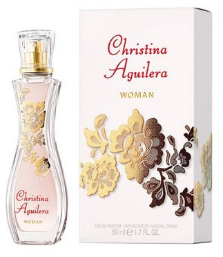Christina Aguilera Christina Aguilera Woman, 50ml, Parfémovaná voda