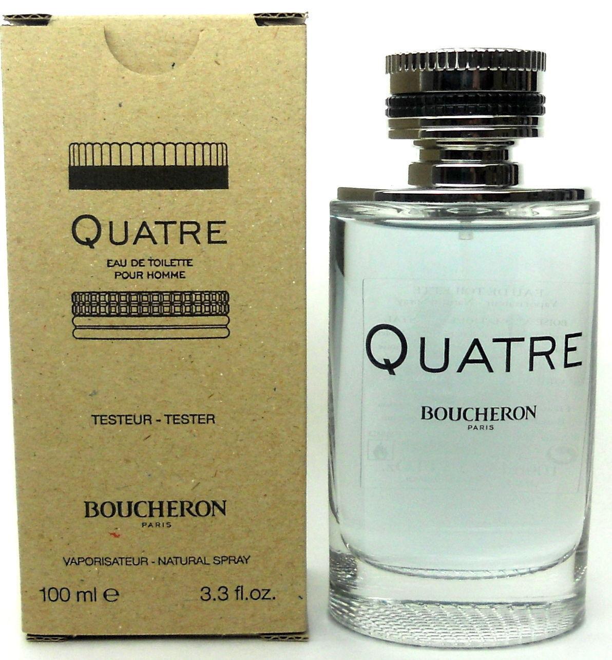 Boucheron Quatre Pour Homme, Toaletní voda - Tester, 100ml, Pánska vôňa