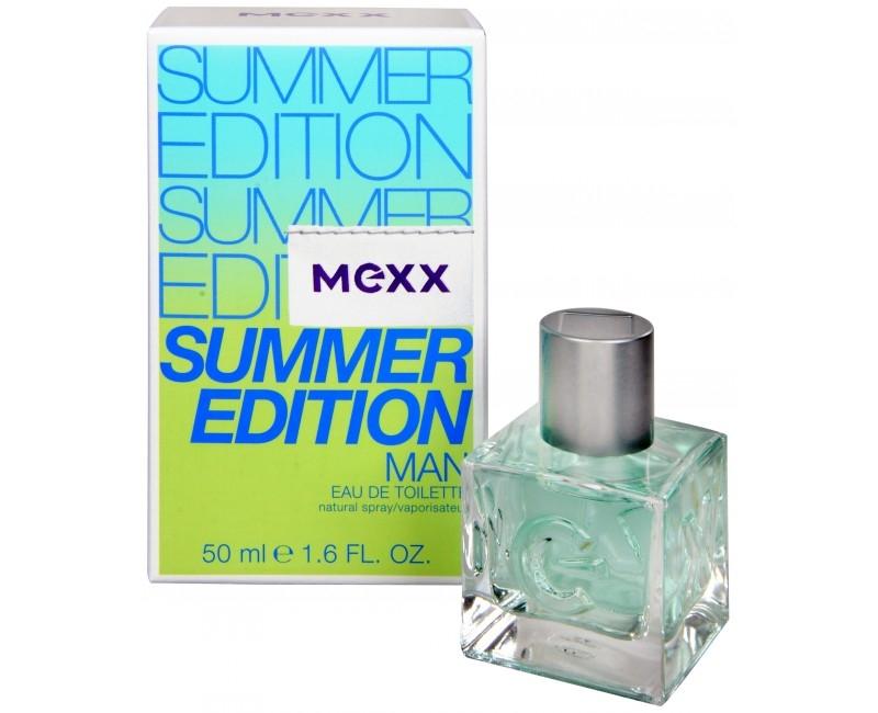 Mexx Summer Edition Man 2014, Toaletní voda, Pro muže, 50ml