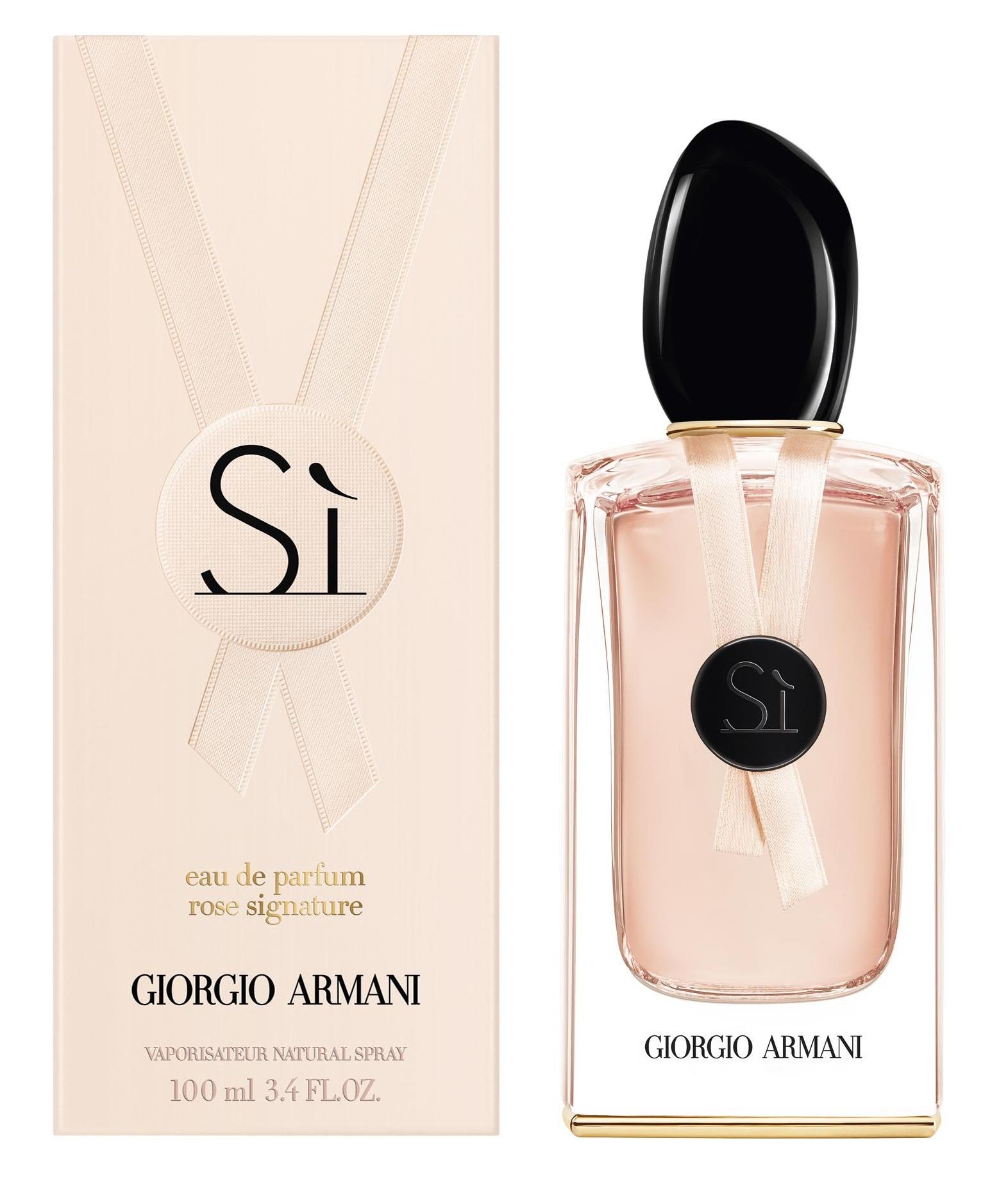 Giorgio Armani Si Rose Signature II, 100ml, Parfémovaná voda