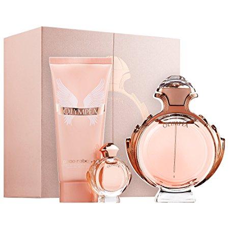 Paco Rabanne Olympéa, Dárková sada, parfémovaná voda 80ml + tělové mléko 100ml + parfémovaná voda 6ml, Dámska vôňa