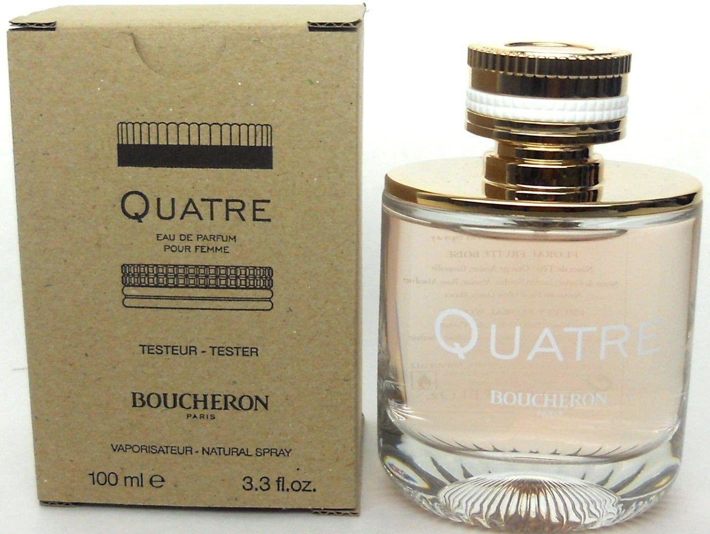 Boucheron Quatre Pour Femme, 100ml, Parfémovaná voda - Tester