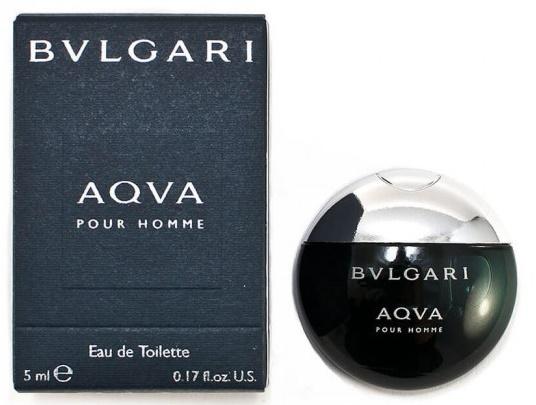 Bvlgari Aqva pour Homme, Toaletní voda, 5ml, Pánska vôňa