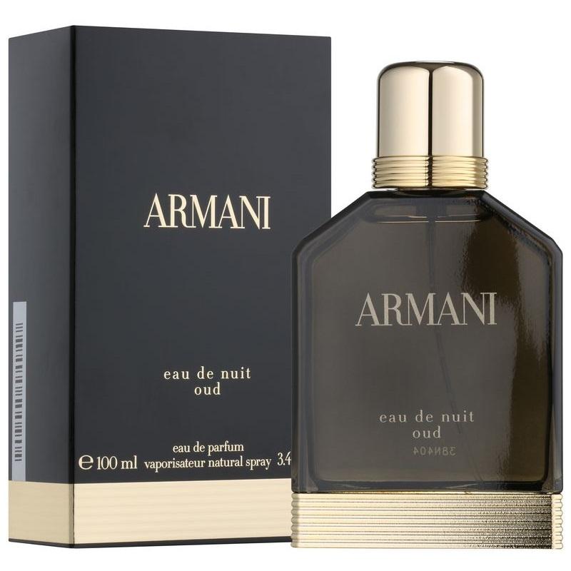 Giorgio Armani Eau de Nuit Oud, Parfémovaná voda, 100ml, Pánska vôňa