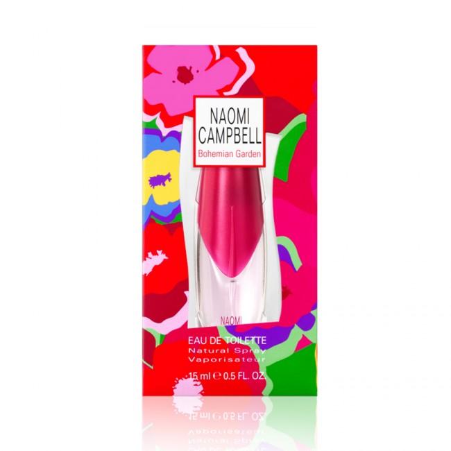 Naomi Campbell Bohemian Garden , 15ml, Toaletní voda