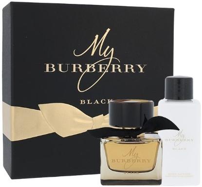 Burberry My Burberry Black, parfémovaná voda 50ml + tělové mléko 75ml, Dárková sada