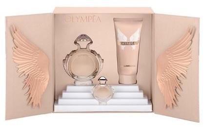 Paco Rabanne Olympéa, Dárková sada, parfémovaná voda 50ml + tělové mléko 100ml + parfémovaná voda 6ml, Dámska vôňa
