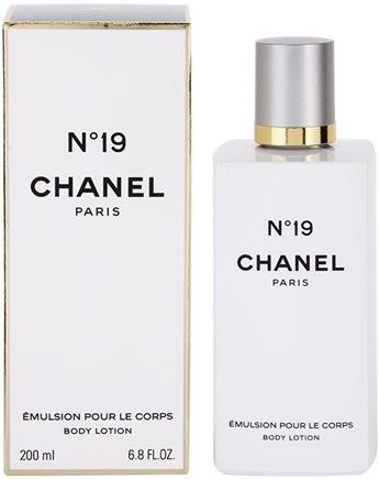 Chanel No.19, Tělové mléko, 200ml, Dámska vôňa