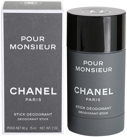 Chanel Pour Monsieur, Deostick, 75ml, Pánska vôňa