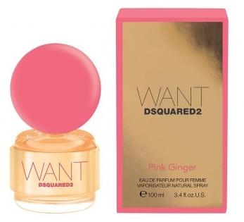 Dsquared2 Want Pink Ginger, 100ml, Parfémovaná voda
