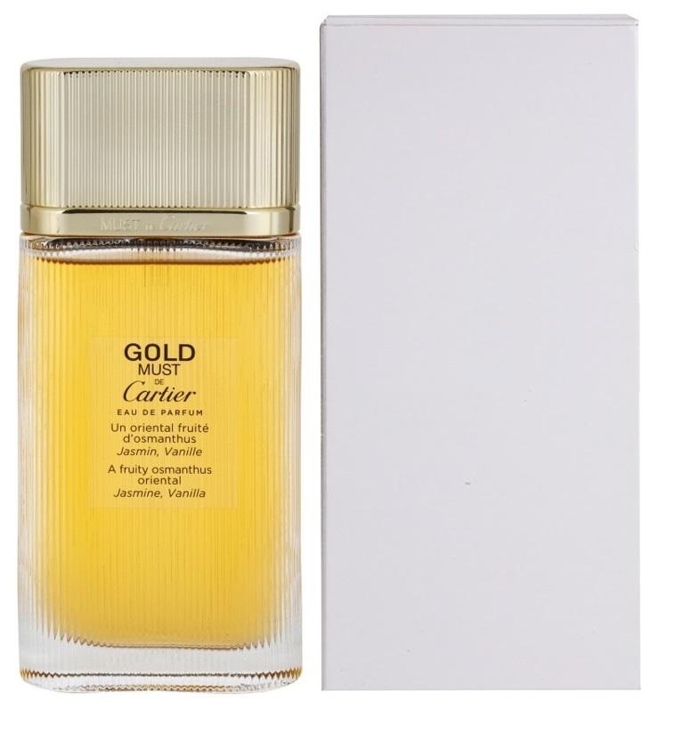 Cartier Must De Cartier Gold, 100ml, Parfémovaná voda - Tester